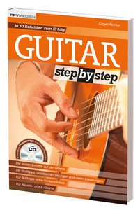 Guitar Step by Step, m. Audio-CD | Dodax.at