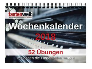 Tastenwelt Wochenkalender 2018 | Dodax.co.uk