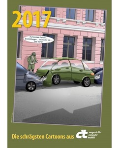 c't Cartoon Kalender 2017 | Dodax.at