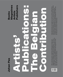Artists Publications: the Belgian Contribution | Dodax.ch