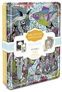 Kreatives ausmalen - Wildlife | Dodax.pl