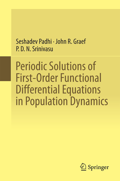 Periodic Solutions of First-Order Functional Differential Equations in Population Dynamics   Dodax.ch