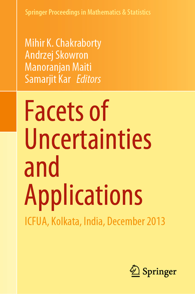 Facets of Uncertainties and Applications | Dodax.ch