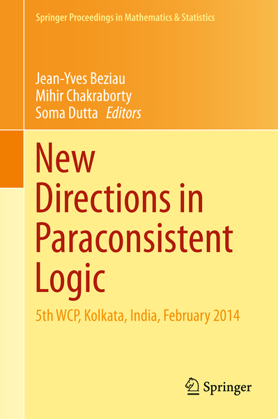 New Directions in Paraconsistent Logic | Dodax.ch