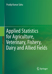 Applied Statistics for Agriculture, Veterinary, Fishery, Dairy and Allied Fields | Dodax.ch