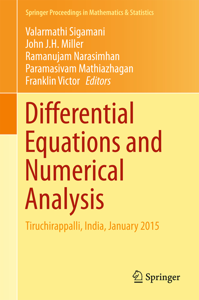 Differential Equations and Numerical Analysis   Dodax.ch