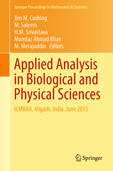 Applied Analysis in Biological and Physical Sciences | Dodax.ch