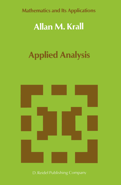 Applied Analysis | Dodax.ch