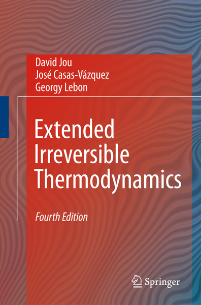 Extended Irreversible Thermodynamics | Dodax.nl