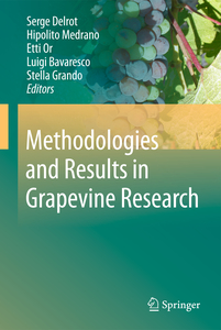 Methodologies and Results in Grapevine Research | Dodax.ch