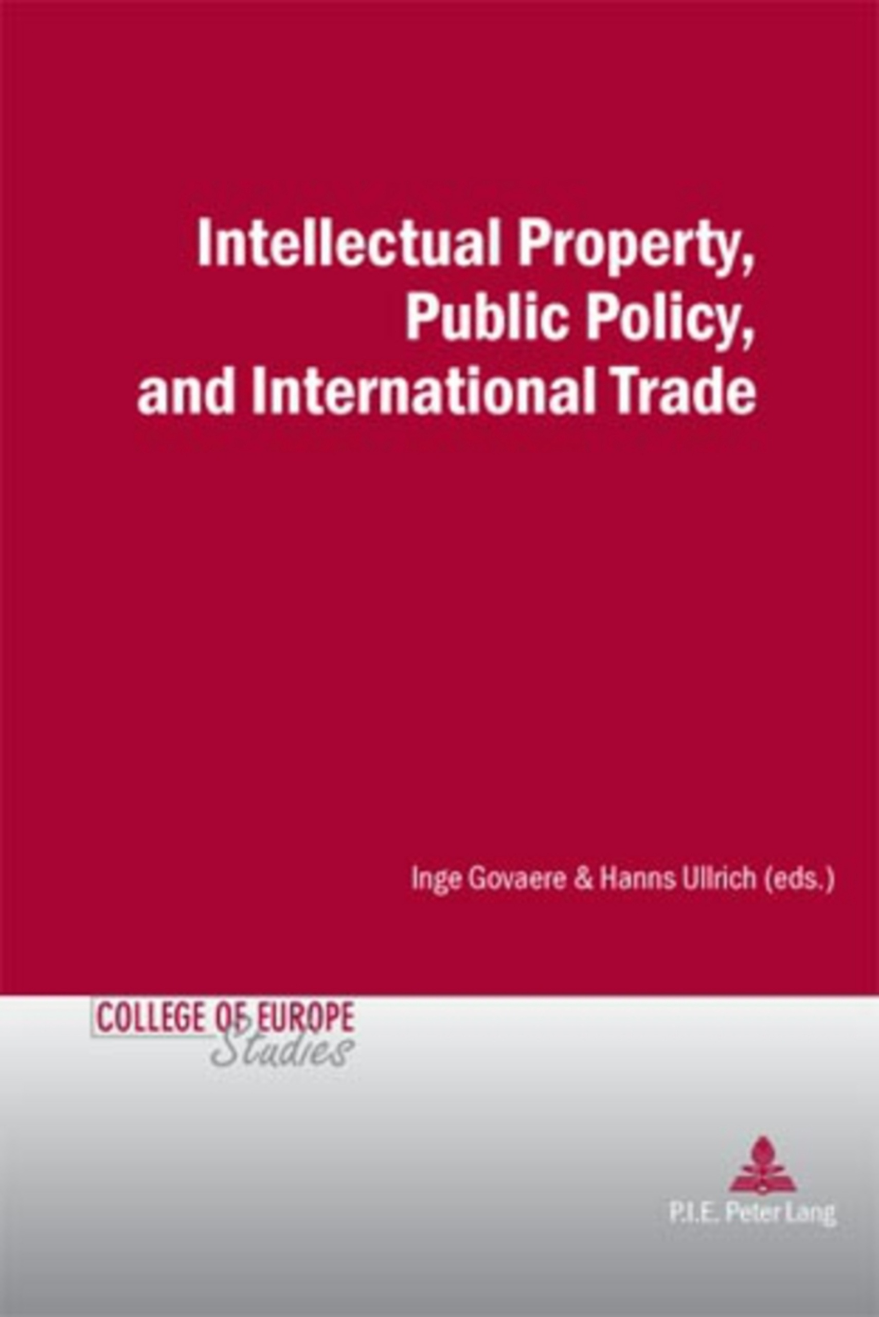 Intellectual Property, Public Policy, and International Trade | Dodax.pl