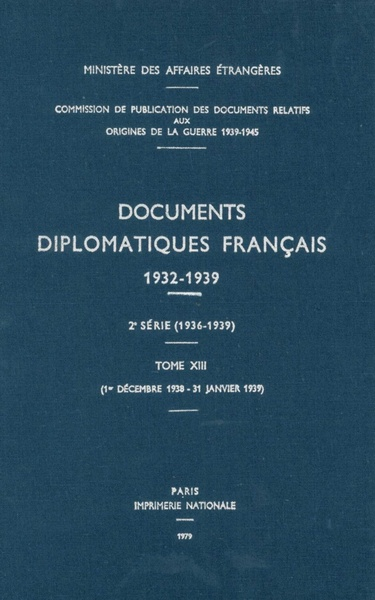 Documents diplomatiques français | Dodax.ch