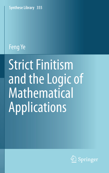 Strict Finitism and the Logic of Mathematical Applications | Dodax.ch