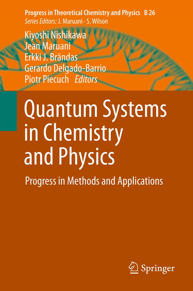 Quantum Systems in Chemistry and Physics | Dodax.ch