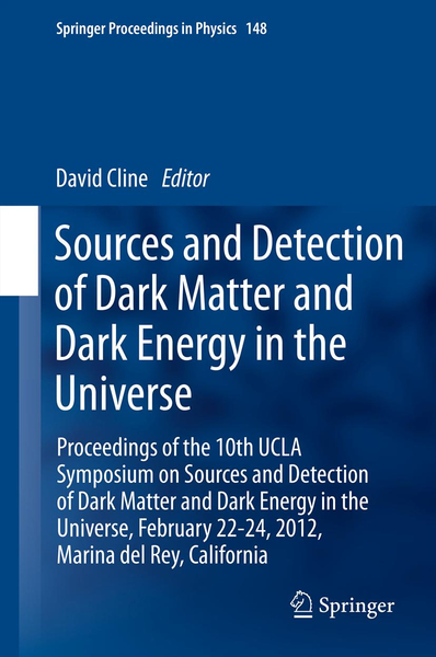 Sources and Detection of Dark Matter and Dark Energy in the Universe | Dodax.ch