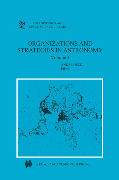 Organizations and Strategies in Astronomy   Dodax.ch