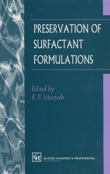 Preservation of Surfactant Formulations | Dodax.de