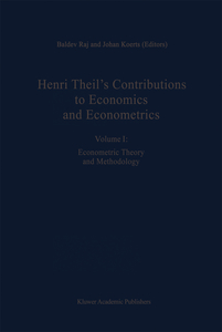 Henri Theil's Contributions to Economics and Econometrics | Dodax.pl