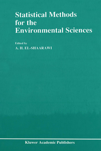Statistical Methods for the Environmental Sciences | Dodax.pl