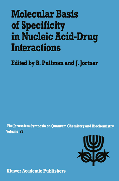 Molecular Basis of Specificity in Nucleic Acid-Drug Interactions | Dodax.ch