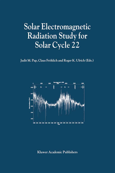 Solar Electromagnetic Radiation Study for Solar Cycle 22 | Dodax.at