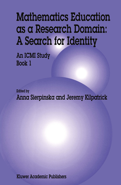 Mathematics Education as a Research Domain: A Search for Identity | Dodax.de