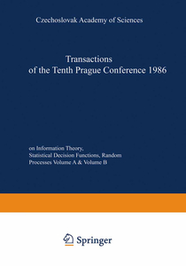 Transactions of the Tenth Prague Conference on Information Theory, Statistical Decision Functions, Random Processes | Dodax.pl