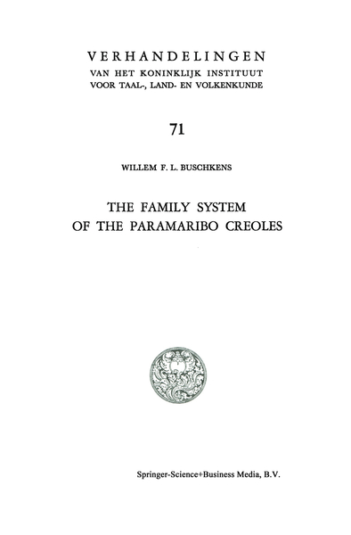 The Family System of the Paramaribo Creoles | Dodax.pl