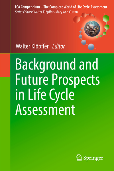 Background and Future Prospects in Life Cycle Assessment | Dodax.ch