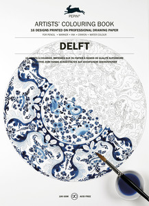 Artists' Colouring Book Delft Blue | Dodax.at
