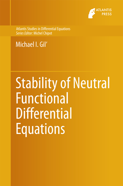 Stability of Neutral Functional Differential Equations   Dodax.ch