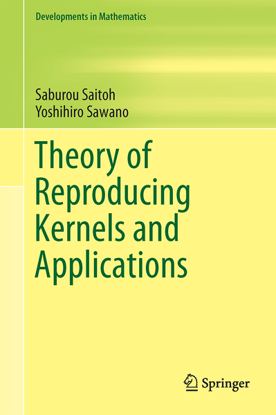 Theory of Reproducing Kernels and Applications | Dodax.pl