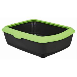TRIXIE 40311 Cat Open litter box Black,Green pet litter box | Dodax.ca