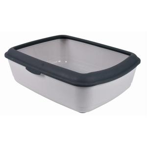 TRIXIE 40312 Cat Open litter box Black,Grey pet litter box | Dodax.ca