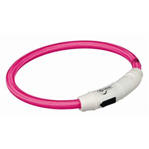 Trixie Flash Leuchtring USB pink XS-S 35 cm/7 mm | Dodax.com