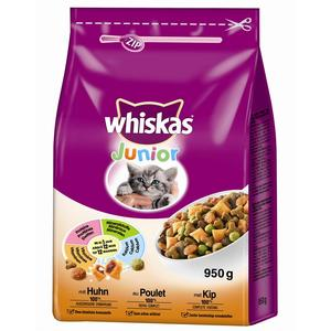 Whiskas Junior mit Huhn 950g | Dodax.fr