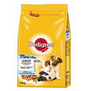 Pedigree Trocken Junior Mini Huhn & Reis 1,4kg | Dodax.com