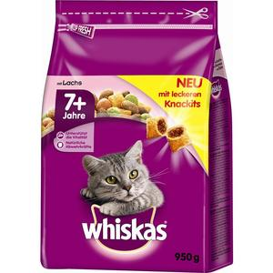 Whiskas Trocken Senior 7+ mit Lachs 950g | Dodax.co.uk