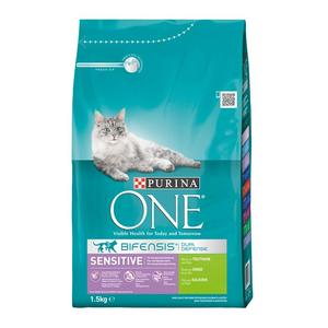 Purina ONE BIFENSIS Sensitive reich an Truthahn 1,5kg | Dodax.com