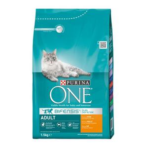 Purina ONE BIFENSIS Adult reich an Huhn 1,5kg | Dodax.nl