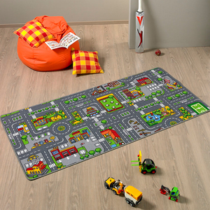 Spielteppich City 80x150cm | Dodax.at