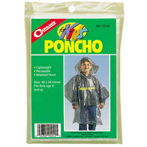 Image of Poncho für Kinder Alter 6+