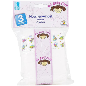 Image of Amia Darling - Diapers in Polybag, 3 Pieces