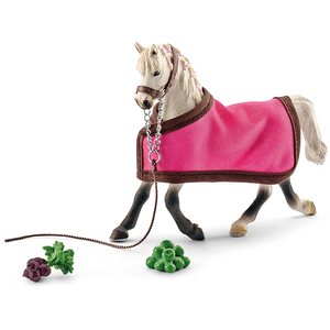 Schleich - Farm Life Arabian Mare With Blanket Figure (41447) | Dodax.at