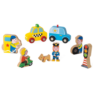 Mini Story Garage City 8pcs. | Dodax.fr