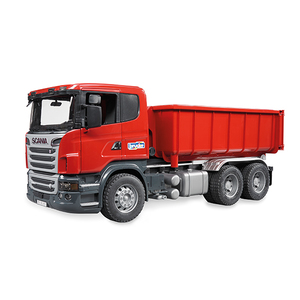 BRUDER Scania R-series with Roll-Off-Container | Dodax.nl