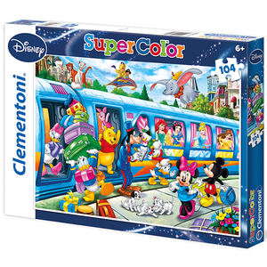 Puzzle Disney Train 104 teilig | Dodax.es