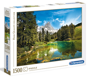 Puzzle Blausee 1500 tlg.   Dodax.co.jp