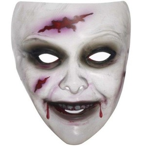 Zombie Maske Frau transparent | Dodax.at