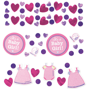 Deko-Konfetti Baby Shower Girl 34gr | Dodax.at
